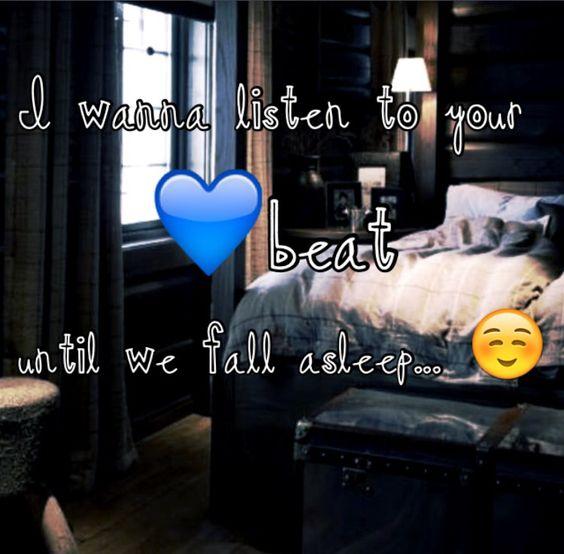 Heart beat cuddles