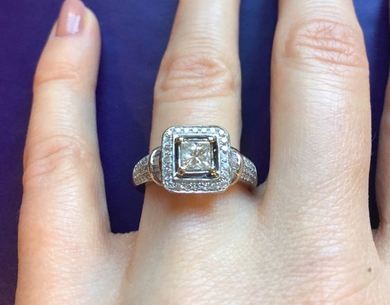A personal favorite from my Etsy shop https://www.etsy.com/listing/484342942/over-1-carat-certified-diamond-halo