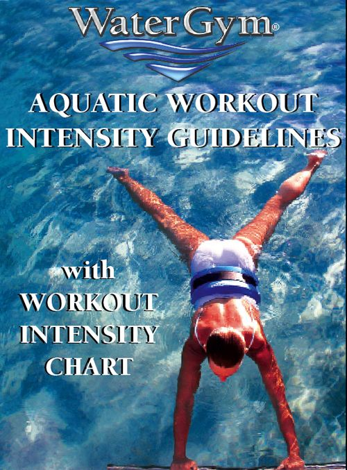 How many calories do I burn during my water aerobics workouts? How can I burn more fat? These and other questions are answered with our EBook. Chart inside.