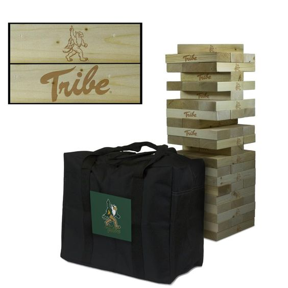 William & Mary Tribe Tumbling Tower Tailgate Lawn Game