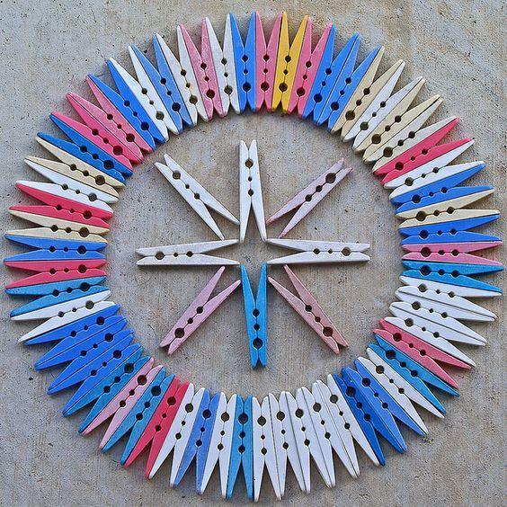 Clothespins Circle