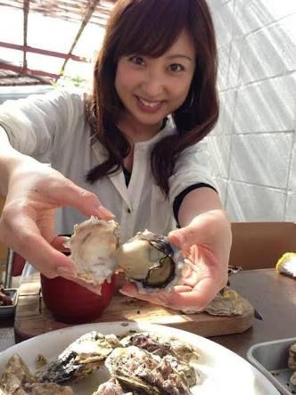 川田裕美アナウンサーの海産物