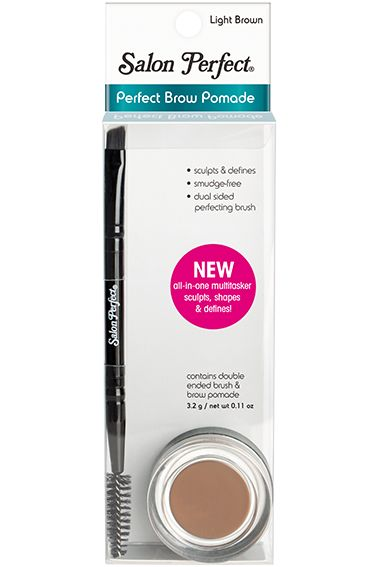 Salon Perfect Brow Pomade In Light Brown Comparable To
