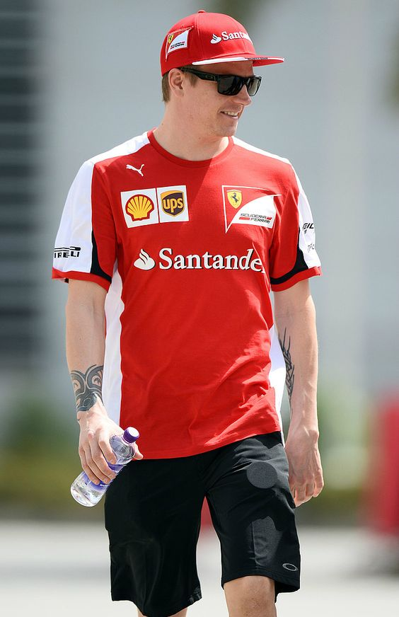 #Kimi #KimiRaikkonen #Raikkonen #iceman #scuderiaferrari #bahgp #redseason #BahrainGp #F1 (saturday; 04 18,2015) pic02