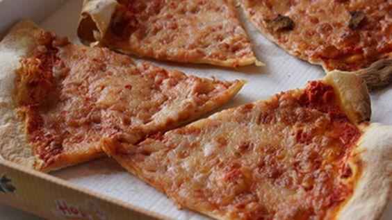 Cómo recalentar la pizza.