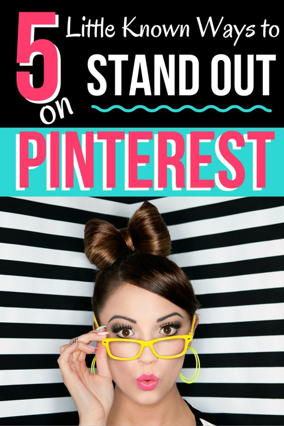 The Top 5 Little Known Ways to STAND OUT on Pinterest | Not sure what you should be doing on Pinterest to gain followers and increase recognition of your biz and brand? We've got you covered with the top 5 (little known) tips on how to increase your visibility on Pinterest!