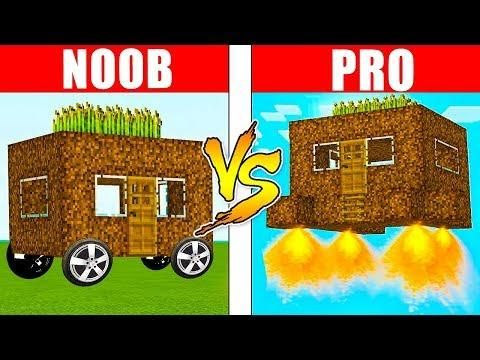 Minecraft Noob Vs Pro Epic House In Real Life Minecraft Animation Realistic Minecraft Irl Noob Minecraft Real Life