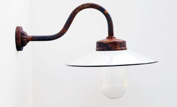 Außenleuchte, Gartenlampe, Hoflampe, Außenlampe, Wandlampe Modell Kaprun