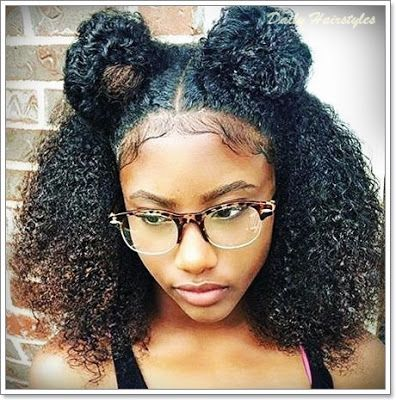 Best And Cool Natural Hairstyles For Black Women With Short Hair Textured Hair Curly Hair Styles Naturally Curly Hair Styles
