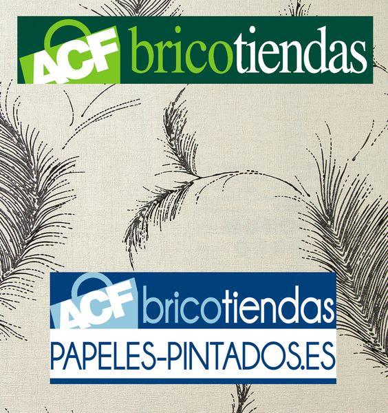 En Bricotiendas, te presentamos la nueva colección de papel pintado con diseños florales y enramados sugerentes para entornos sofisticados. Visita nuestra tienda online: http://www.bricotiendas.com/