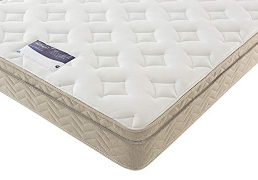 Silentnight Miracoil Memory Cushion Top Mattress Double Uk In
