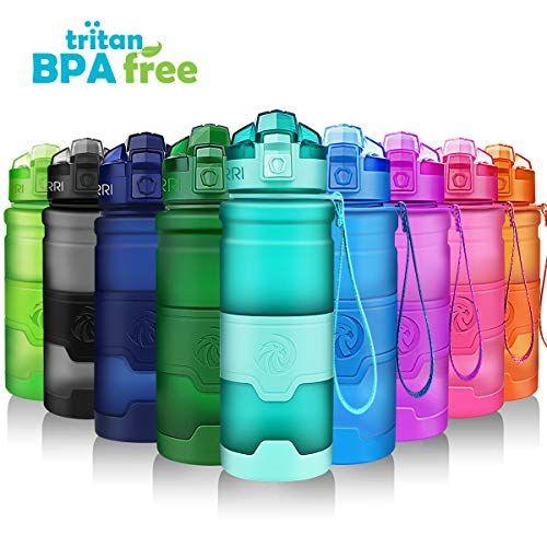 Reusable BPA-Free Hydration Filter Water Bottle Sports Filter Drink Random Color