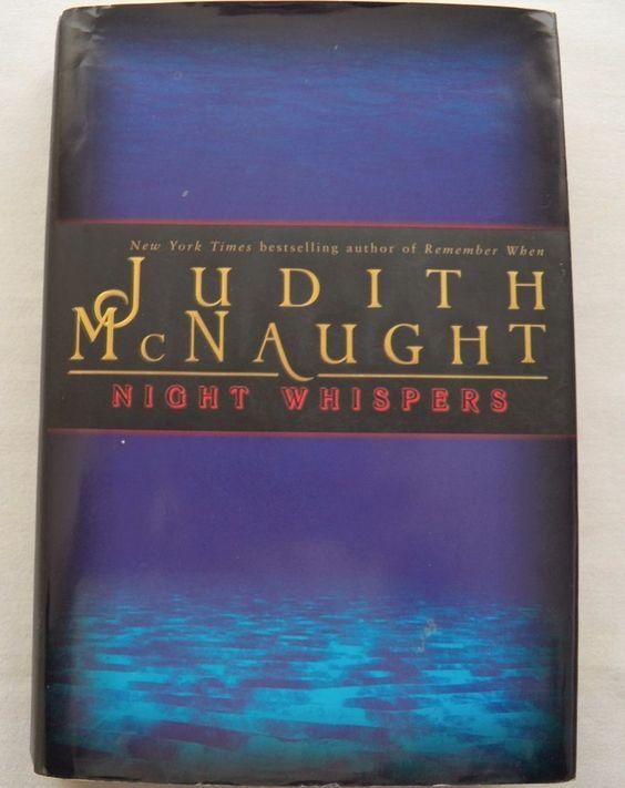 $3.00 - Night Whispers Judith McNaught 1998 HC DJ (8416-542) novels