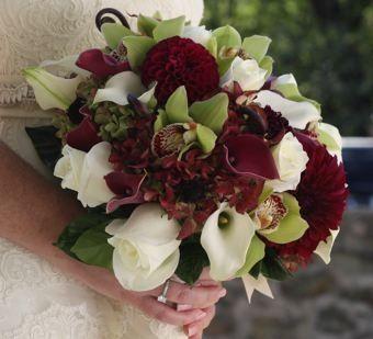 bouquet autunnale bordeaux