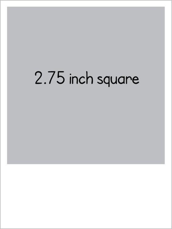 Project Life Freebie Template  - polaroid template