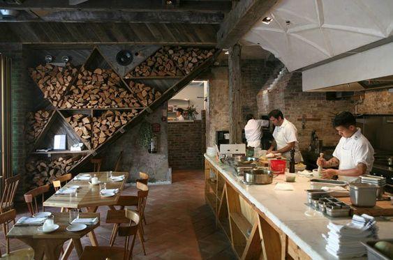 открытые кухни в ресторанах