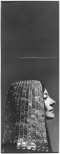 Model in Egyptian Headdress from Collection of Metropolitan Museum of Art, photograph by George Hoyningen-Huene, 1930s