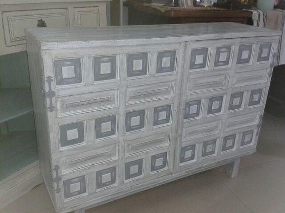 Mueble castellano restauraci n mueble pinterest - Ideas para restaurar muebles ...