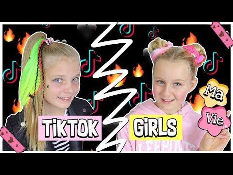 Tik Tok Girls Bff Umstyling E Girl Soft Girl Vsco Girl Mavie Noelle Werbung Youtube In 2020 Bff Madchen Malen Umstyling