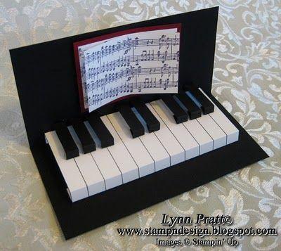 Piano Card: