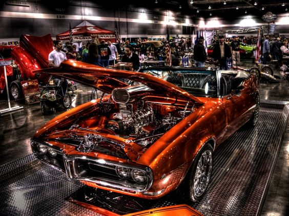 Firebird With Blower At Portland Expo Center On Wheels - Portland expo car show