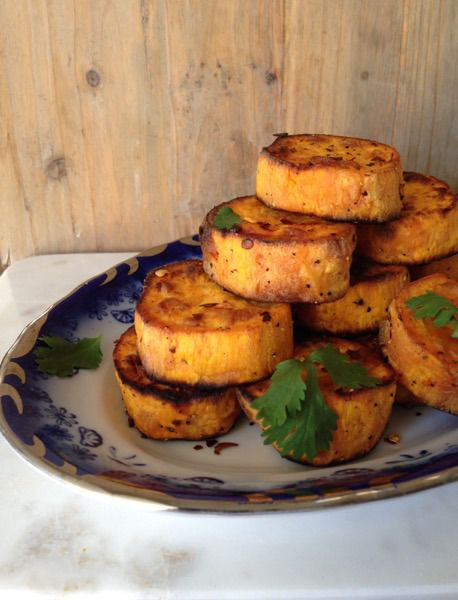 How scrumptious are these sweet potato rounds looking ?!