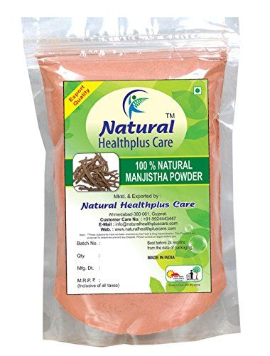 100% Natural Manjistha Root (RUBIA CORDIFOLIA) Powder as HAIR COLORANT NATURALLY by Natural Healthplus Care (1/2 lb / 8 ounces / 227 g) ** Find out @