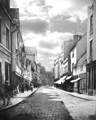 Amazing photos of old Cambridge. Including the original Petty Cury.