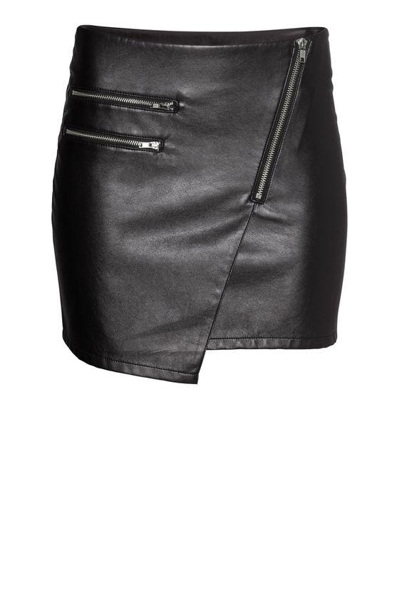 Une jupe de rockeuse