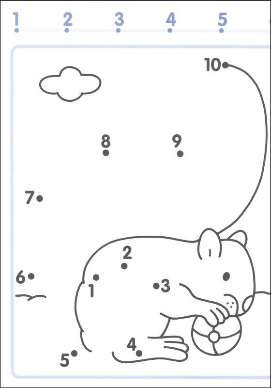 Connect The Dots 1 10 Worksheets Dot Worksheets Math Activities Preschool Math Coloring Worksheets
