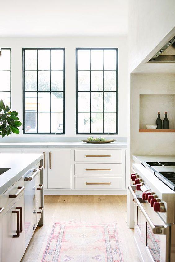 100 Beautiful White Kitchens Design De Interior De Cozinha