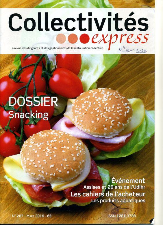 Collectivités express n°287 de mars 2016