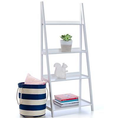Image For Ladder Bookshelf White From Kmart 39 Design Me Bookcases Amazing