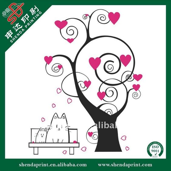 Source 2011 Newest PVC Removable Wall Sticker SDW-110041 on m.alibaba.com