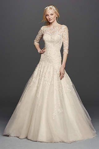 Vintage Wedding Dresses - Lace & Gown Styles | David\'s Bridal ...