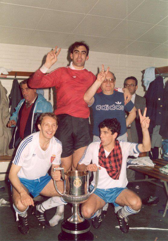 Campeón de la copa del rey 85 86