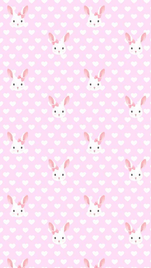 Galaxy pastel girly cute girl kawaii rabbits for Pastel galaxy fabric