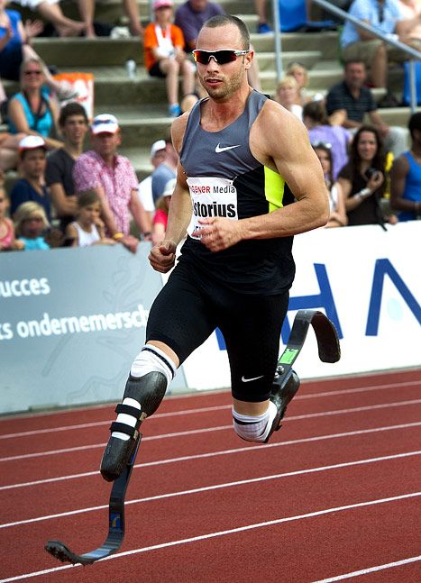 South Africa's Oscar Pistorius