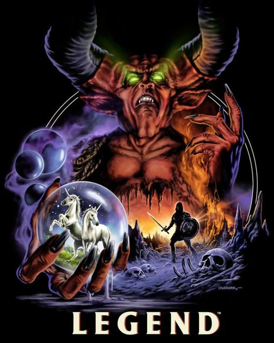 Fright-Rags Summons The Lord Of Darkness For Legend Shirts
