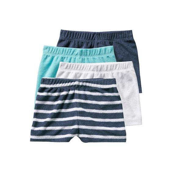 Lot de 4 shorts de bain bébé garçon VERTBAUDET