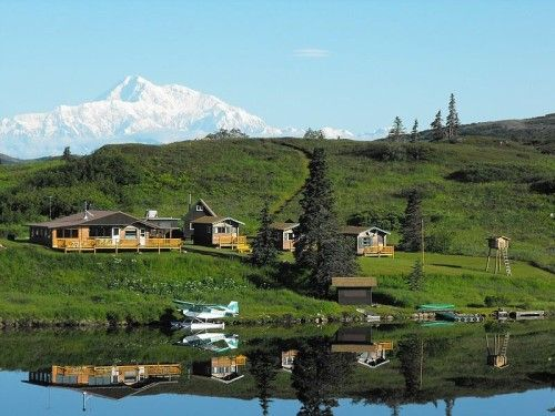 Remote Alaska Lodge Cabins Wilderness Natural Beauty For