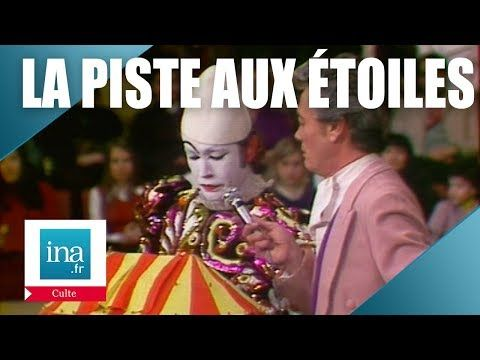 La Piste Aux Etoiles Du 11 Mai 1975 Archive Ina Youtube Piste De Danse Clown Blanc Etoile