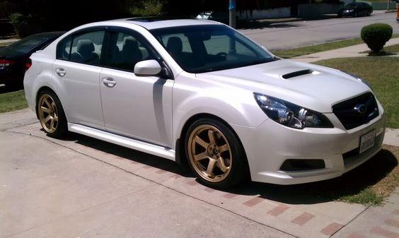 Modified 2010 Subaru Legacy