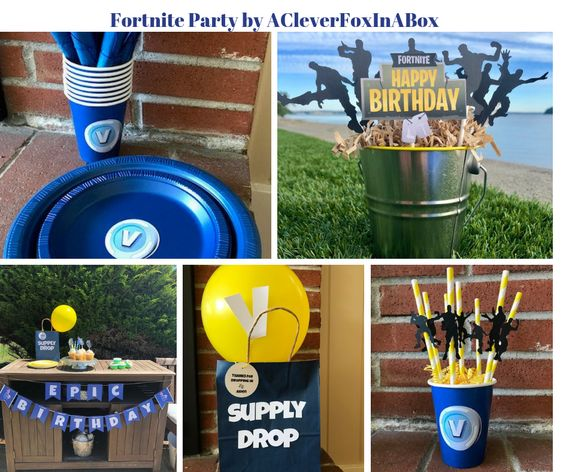 printable fortnite party - fortnite party jumper