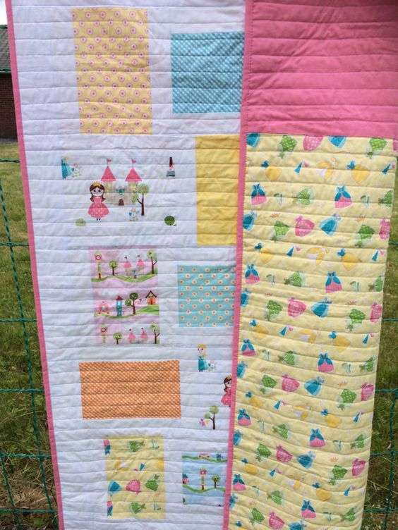Modern baby quilt/Ready to ship/Baby by Ebonybutterflydesign