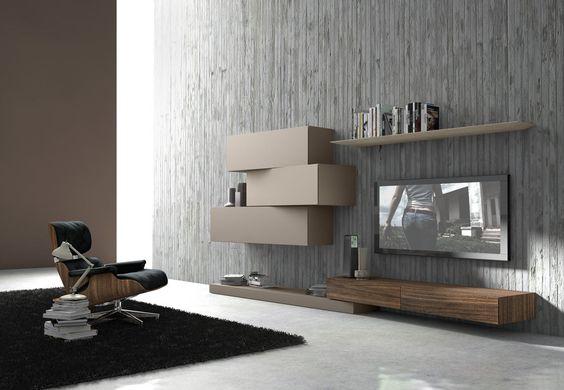 Wohnwand italian design  Nett wohnwand italian design | Deutsche Deko | Pinterest