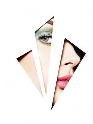 love this idea will possibly recreate this at college. card cut out pastel make up peeking