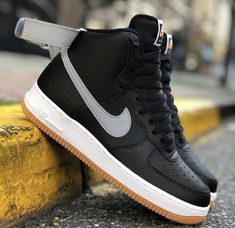 Nike Air Force 1 High White Black Gum Bottm Nike Air Force Nike Air Nike