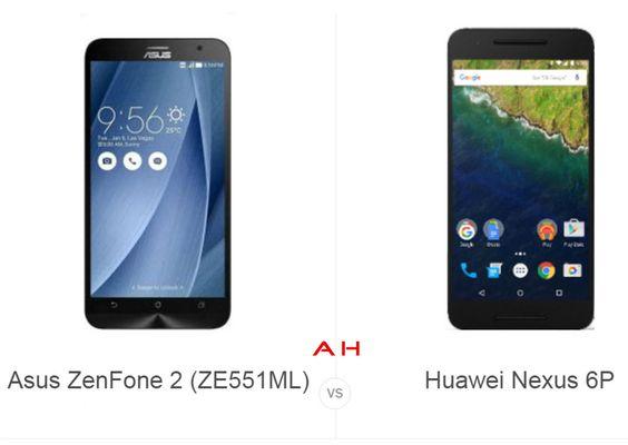 Phone Comparisons: Asus ZenFone 2 (ZE551ML) vs Huawei Nexus 6P