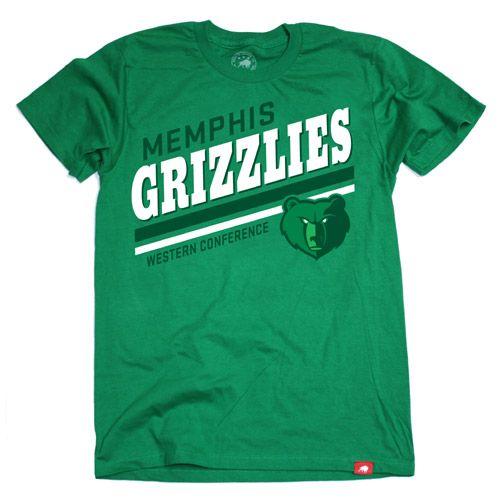 Memphis Grizzlies Sportiqe Vintage Pride St. Patty's Tee - Green